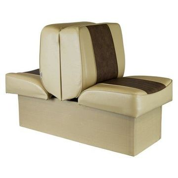 Wise 8WD707P-1-662 Deluxe Series Lounge Seat, Sand-Brown