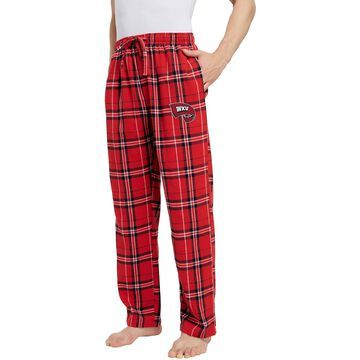 Concepts Sport Men's Western Kentucky Hilltoppers Red/White Hillstone Flannel Sleep Pants