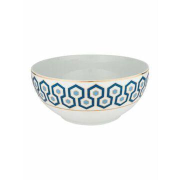 Newport Porcelain Salad Bowl White