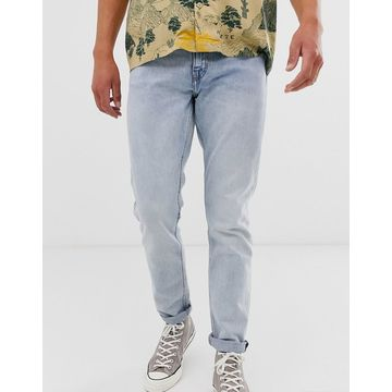 Weekday Sunday relaxed tapered jeans blue