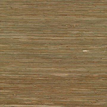 Kenneth James Kaito Olive Grasscloth Wallpaper