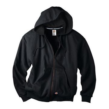 Dickies Men's Thermal Lined Fleece Jacket Black