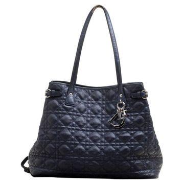 Dior Dior Panarea Blue Cloth Handbag