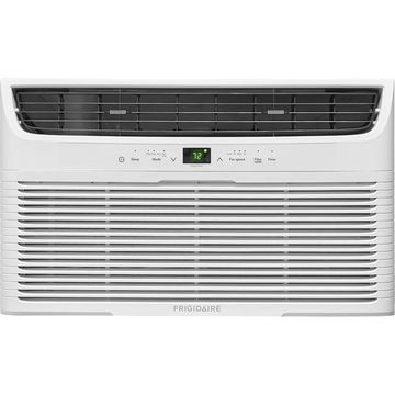 Frigidaire FFTH0822U1 8,000 BTU 115V Built In Air Conditioner with 4200 BTU Heater and Remote Control - White
