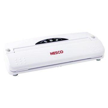 Nesco VS-01 Food Vacuum Sealer, 21-Piece Set, White