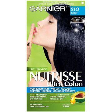 Garnier Nutrisse Ultra Color, Blue Black 210