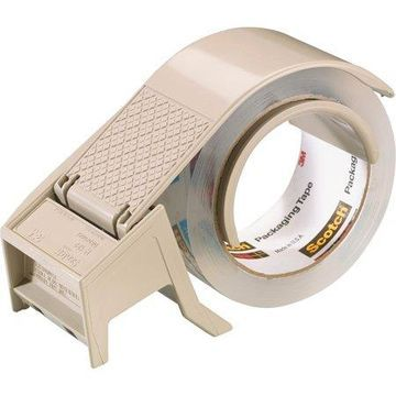 Scotch Compact and Quick Loading Dispenser for Box Sealing Tape, 3