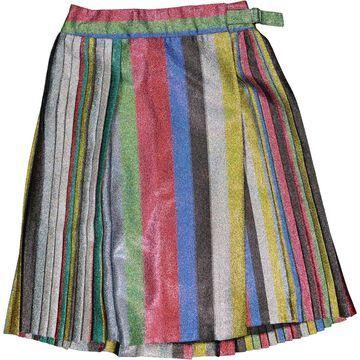 Marco De Vincenzo Multicolour Polyester Skirts