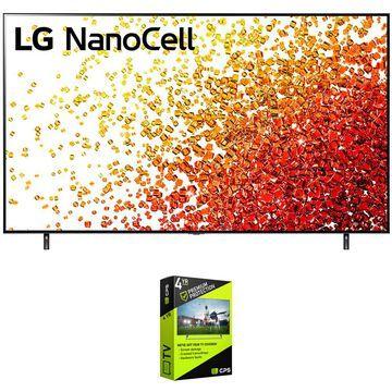 LG 86NANO90UPA 86 Inch 4K Nanocell TV 2021 + Premium Warranty Bundle