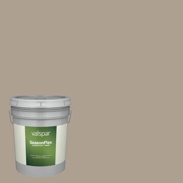 Valspar SeasonFlex Satin Living Greige Hgsw3444 Exterior Paint (5-Gallon)
