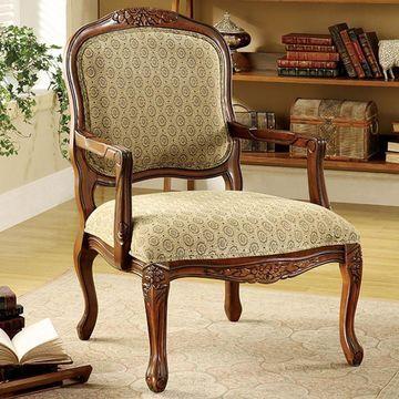 Benzara Quintus Accent Chair