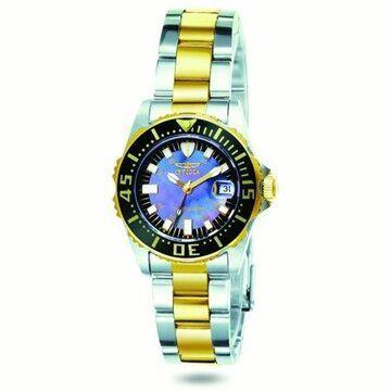 Invicta Women's 2960 Black Stainless-Steel Quartz Fashion Watch