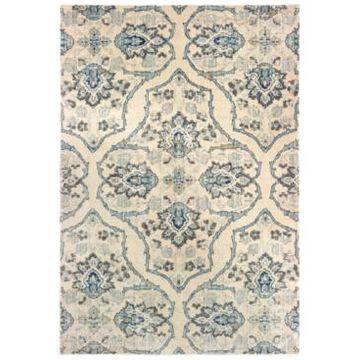 Oriental Weavers Pandora 5502W Ivory/Blue 2'3