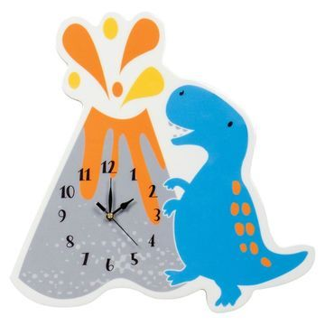 Trend Lab Dinosaur Roar Volcano Wall Clock