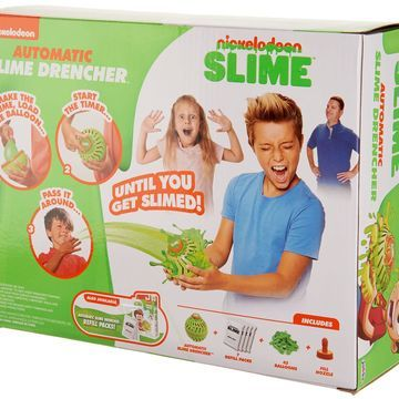 Nickelodeon Slime Automatic Slime Drencher w/Extra Balloons &Slime