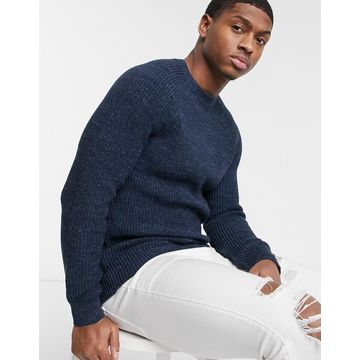 Esprit chunky knit sweater in navy