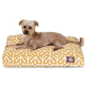 Majestic Pet Aruba Rectangle Dog Bed Treated Polyester Removable Cover