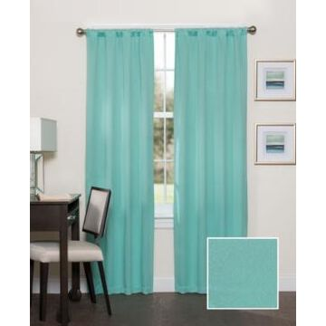 """Eclipse Darrell 37"""" x 95"""" Thermaweave Blackout Curtain Panel"""