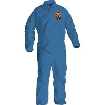 Kimberly-Clark, KCC58505, A20 Particle Protection Coveralls, 24 / Carton, Blue