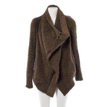 Rick Owens Khaki Wool Jackets
