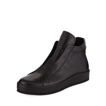 Men's High-Top Laceless Sneakers