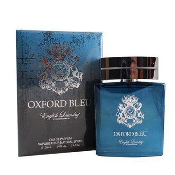 Oxford Bleu Eau De Parfum Spray 3.4 Oz / 100 Ml for Men by English Laundry