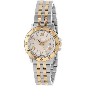 Raymond Weil Women's 5399-STP-00657 'Tango' Two-Tone Stainless Steel Watch