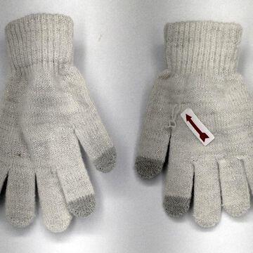 Cejon C88109 Ez Tap Gloves w/ Metallic Thread Detail Ivory