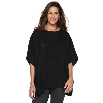 Women's Napa Valley Textured Poncho Sweater