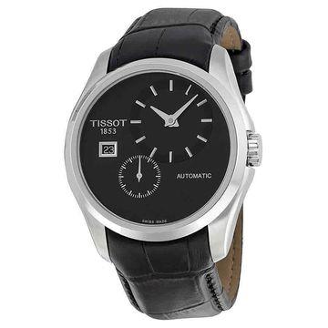 Tissot Couturier Automatic Black Dial Mens Watch T0354281605100