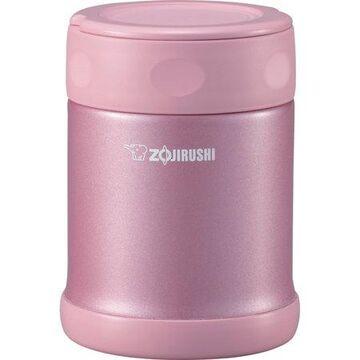 Zojirushi SW-EAE35PS Stainless Steel 12oz. Food Jar, Shiny Pink