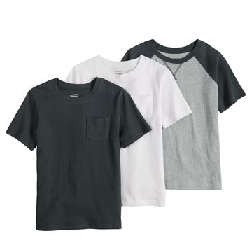 Toddler Boy Jumping Beans 3-Pack Solid Tees