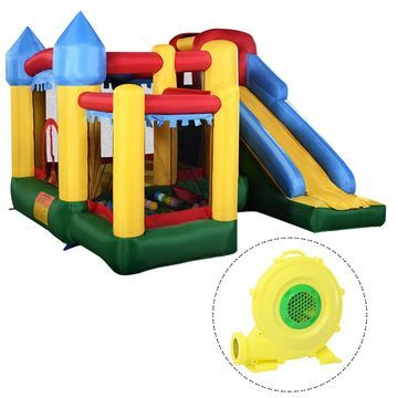 Mighty Inflatable Bounce House Castle Jumper Moonwalk Bouncer w/680W Blower New