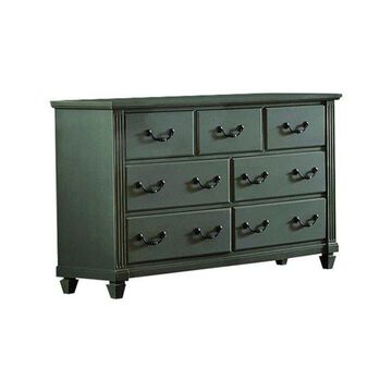 Homelegance Granbury 7-Drawer Dresser, Casual Gray Rub-Through