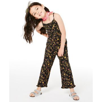 Little Girls Floral-Print Jumpsuit, Created for Macy's