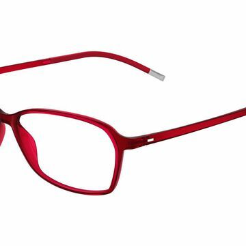 Silhouette 1583 SPX Illusion Fullrim Eyeglasses in Red