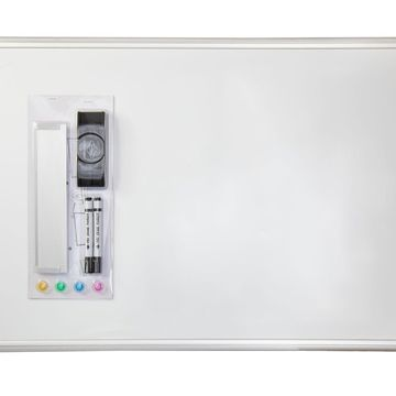 Offex Home Office Wall Mounted Dry Erase Magnetic Whiteboard - 24