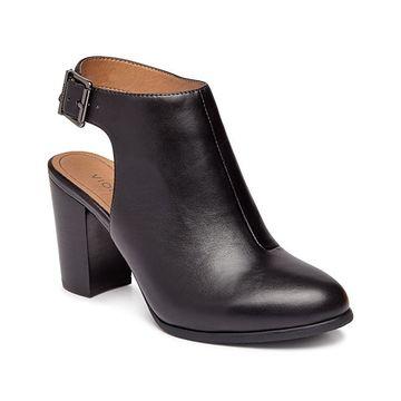 Vionic Women's Pumps BLK - Black Lacey Leather Pump - Women