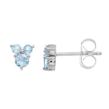 LC Lauren Conrad 10k Gold Gemstone Stud Earrings