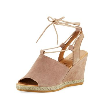 Whatnot Suede Wedge Espadrilles