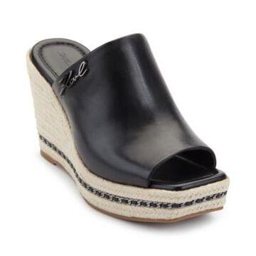 Karl Lagerfeld Paris Women's Corissa Wedge Sandals Women's Shoes