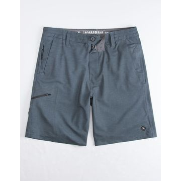 Global Passage Charcoal Mens Hybrid Shorts