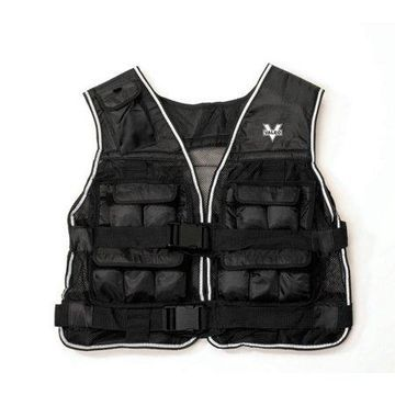 Valeo 20-Pound Weighted Vest With Removable 1 Pound Packs To Adjust From 1 to 20 Pounds