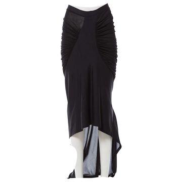 Issey Miyake Black Synthetic Skirts