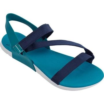 Rider Women's RX Ankle Strap Sandal Grey/Blue/Green