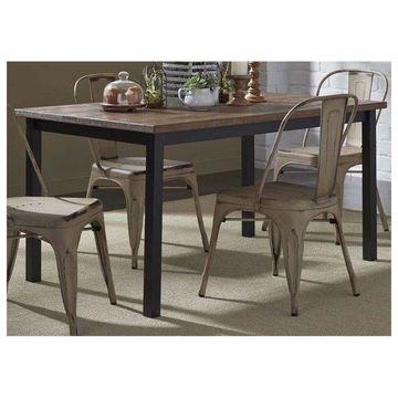 Liberty Furniture Vintage Series Rectangular Leg Table
