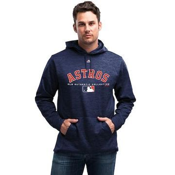 Majestic MLB Player On Field Hoodie - Houston Astros - Team Navy