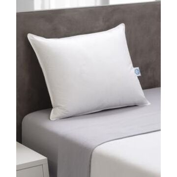 Weatherproof Vintage Home Prime Feather Fiber and Down Alternative Pillow, Standard By Allied Home