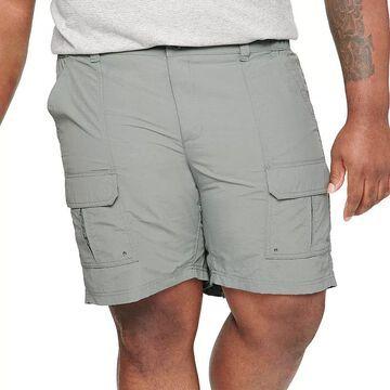 Big & Tall Croft & Barrow Outdoor Ripstop Cargo Shorts, Men's, Size: 50, Med Grey
