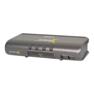 IOGEAR GCS1734 MiniView Extreme Mutimedia GCS1734 - KVM / audio switch - 4 x KVM / audio - 1 local user - desktop
